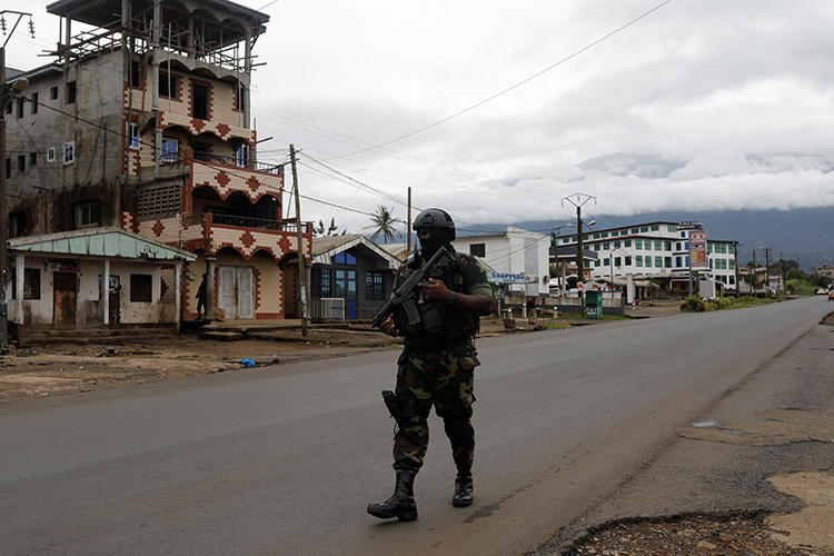 Cameroon's military detains pidgin news anchor Samuel Wazizi