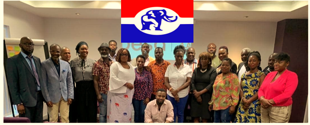 NPP UK Luton Chapter trains its executives ready for election 2020