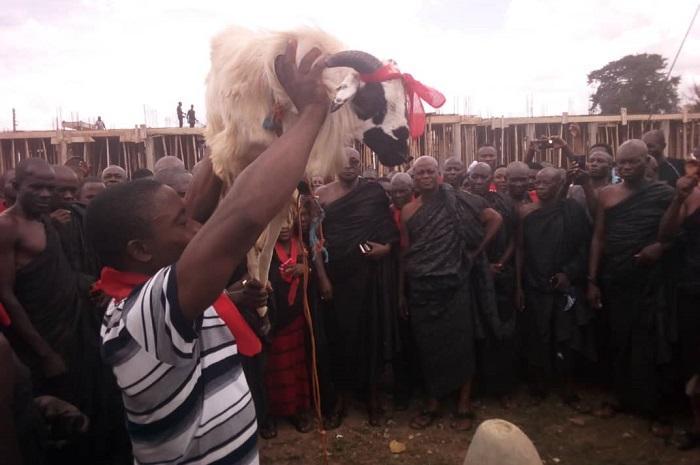 Atebubu Chiefs invite gods to strike former NDC MP dead
