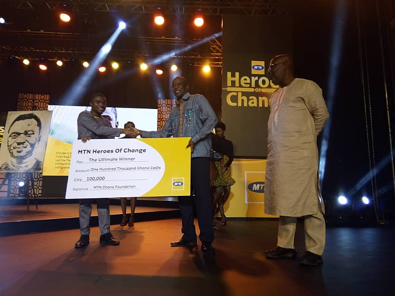 Charles Ofori Antipem Is Winner Of MTN Heroes Of Change Season 5