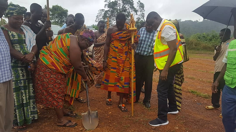 Tarkwa MCE Cuts Sod For Eight Projects