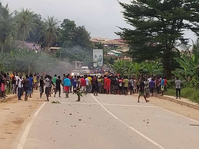 Foreigners Inciting Locals To Riot At Ayanfuri—Operation Vanguard Warns