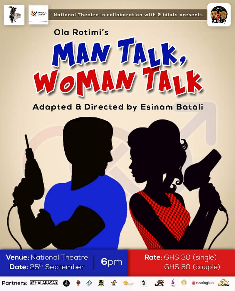 5 #HappyFacts About Man Talk, Woman Talk – A stage play