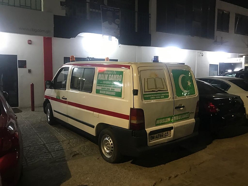 Mahama Spain Donates Ambulance To Community