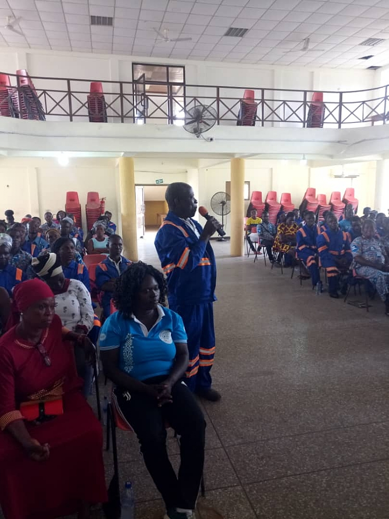 Zoomlion Equipped Team Leaders On Modern Practices Of Public Clearance