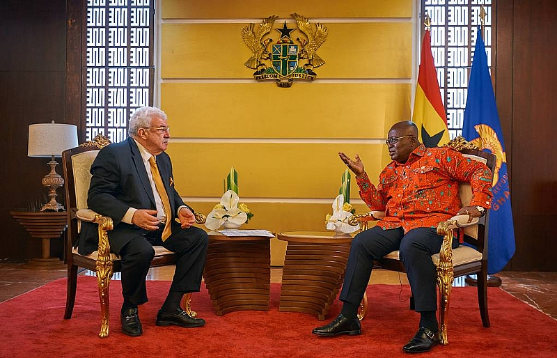 Accra strives to strengthen relations with Moscow