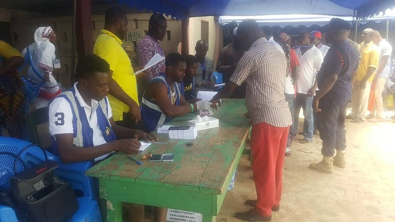 NPP Primaries: Party Agents Delay Ashaiman Polls