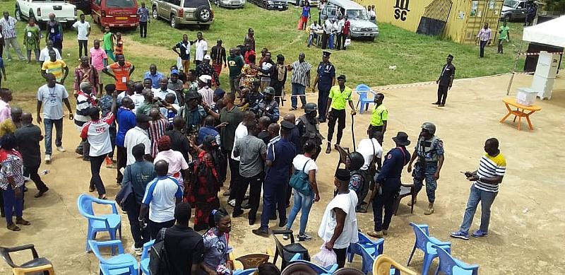NPP Primaries: Supporters 'Clash' At Odumase-Krobo