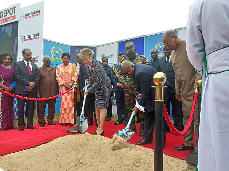 Kofi Annan Statue Commenced