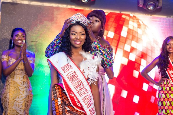 Gloria Wins Miss Commonwealth Ghana 2019