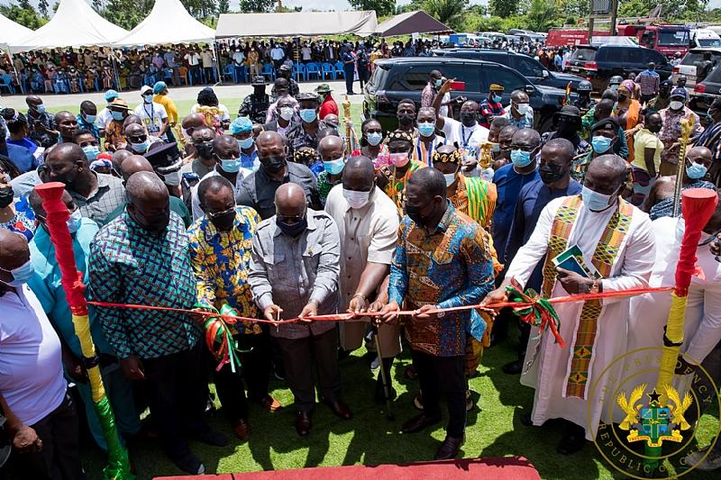 Nana Opens GH¢10m Yam, Cassava Factory In Oti - DailyGuide