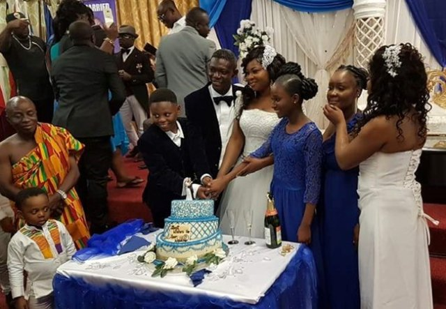 Photos Actor Agya Koo Marries In London
