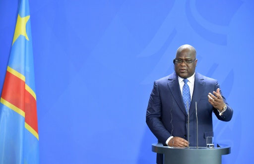 DRCongo leader vows to take on corruption