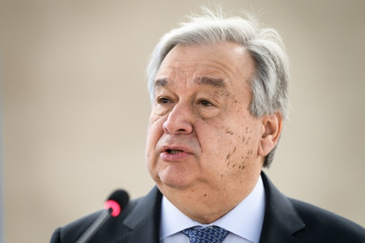 UN chief expresses solidarity with Ebola-hit DR Congo