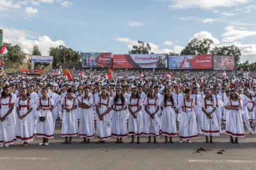 Ethiopia's largest ethnic group marks thanksgiving festival