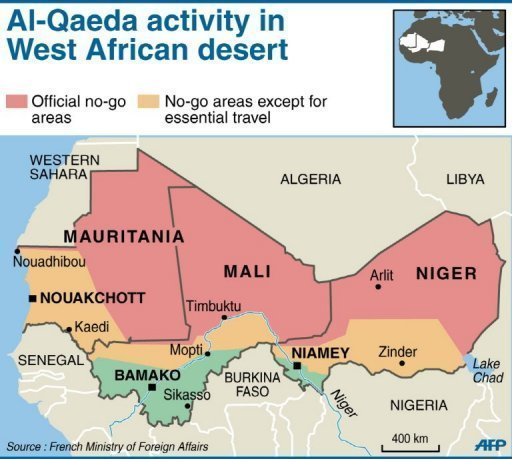 mali and west africa map activity