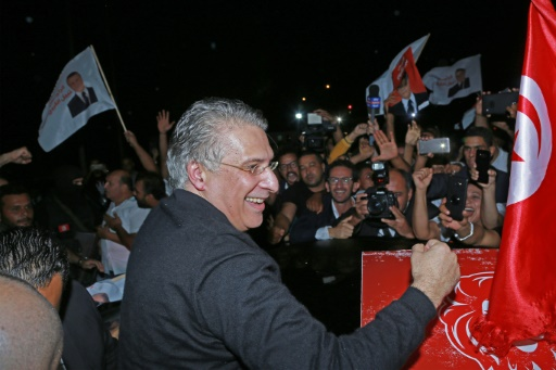 Jailed Tunisia presidential hopeful walks free in time for runoff