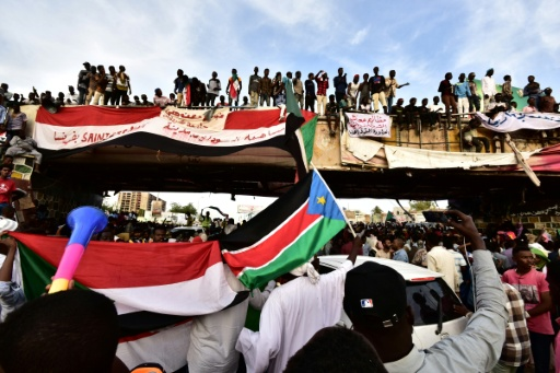 Sudan Activists Warn Of Attempt To Clear Protest Camp