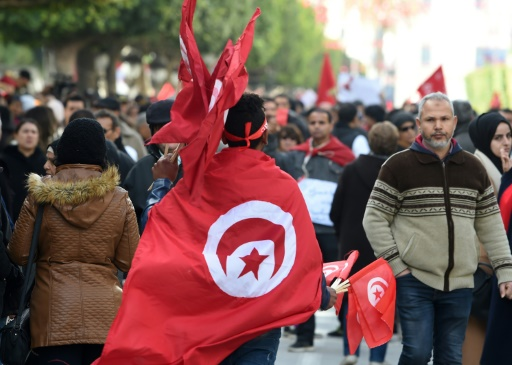 Powerful union calls for strike as Tunisia marks revolt anniversary