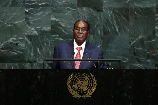 Mugabe at UN stands up to 'Giant Gold Goliath' Trump