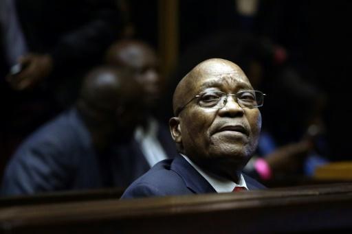 Five arrested in S.Africa over Zuma-era graft allegations