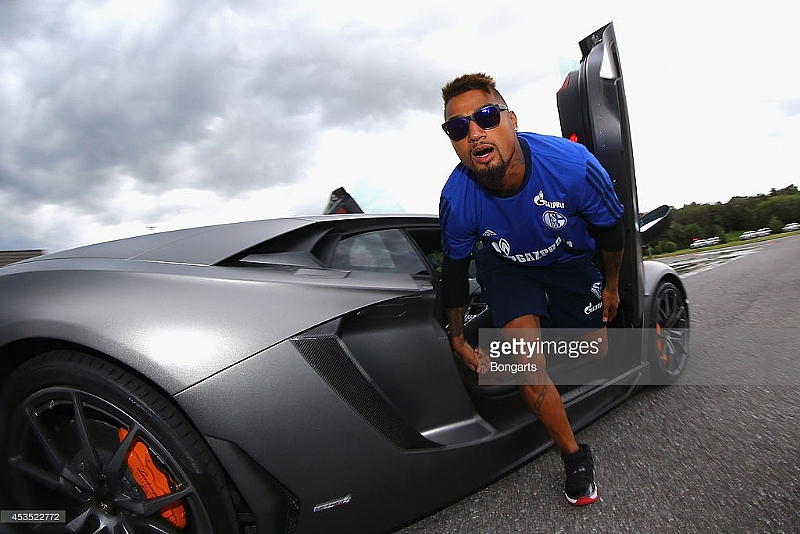 Kevin Prince Boateng And Sulley Muntari S Comfy Car Collection