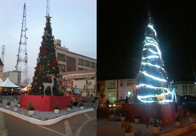 Kumasi Mayor Erects 125ft Christmas Tree To Celebrate Yuletide