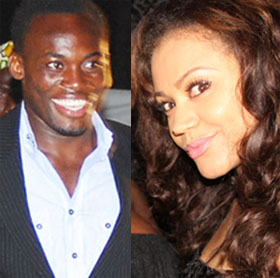 essien nadia at party