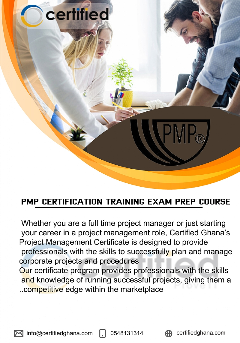 Pmp Certification Training Exam Prep Course