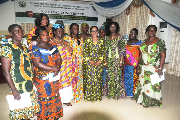 First Lady Lauds Women's Role In Fisheries Sector