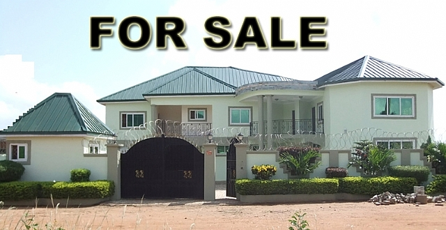 6 bedroom executive house for sale for Modern houses in ghana