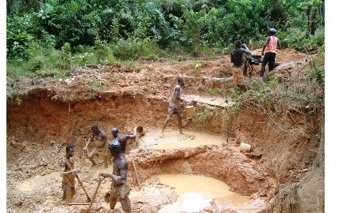 the effects of gold mining against