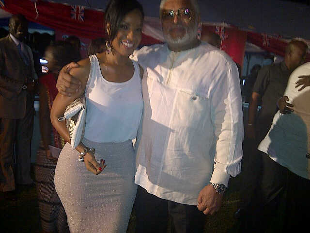 omg what is president rawlings doing with joselyn dumas