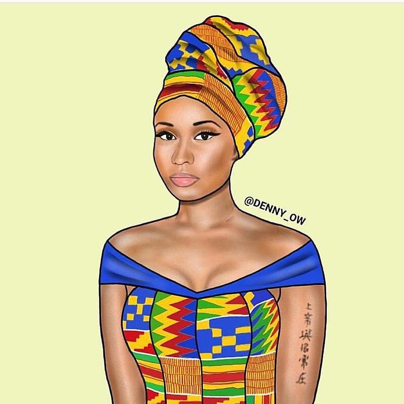 Image result for nicki minaj Ghana