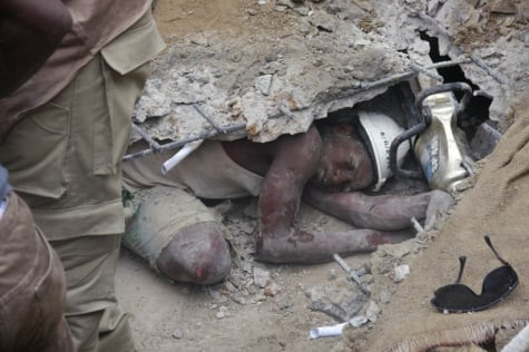 Nigeria Church Building Collapse Church Building Collapses