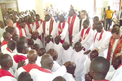 Lutheran Church ordains 13 new pastors