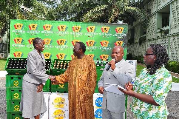 Accra Brewery Limited Donates