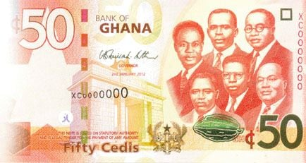 bank of ghana introduces upgraded gh 50 into circulation