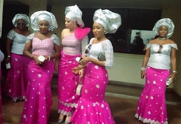 Tonto Dikeh ,Ini Edo,Monalisa Chinda,Ebube Nwagbo At Moses