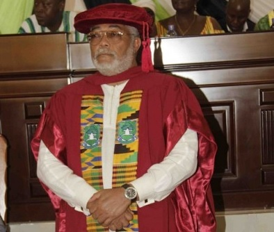 UDS honours Rawlings