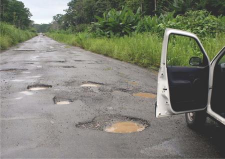 Death trap on Kumasi-Sunyani road