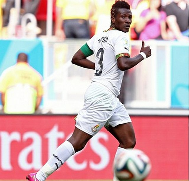 2010 World Cup Top Scorers : World cup ghana captain asamoah gyan sets record as