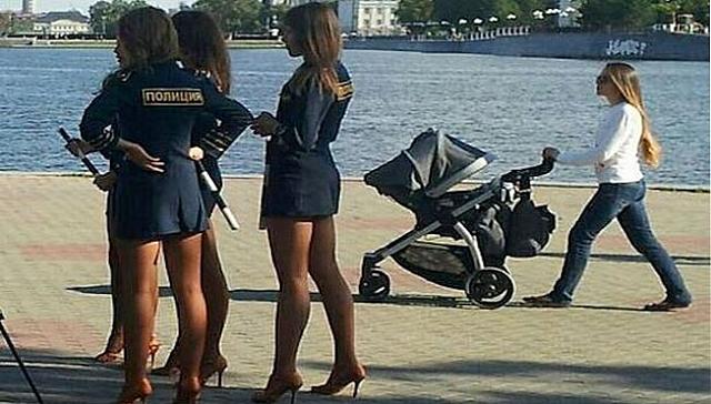 Russian Cops Ban Short Skirts After Skirts Get Too Short