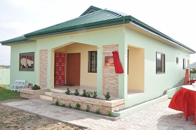 Vodafone ghana gives away 3 bedroom house in 39 cool chop for 3 room house