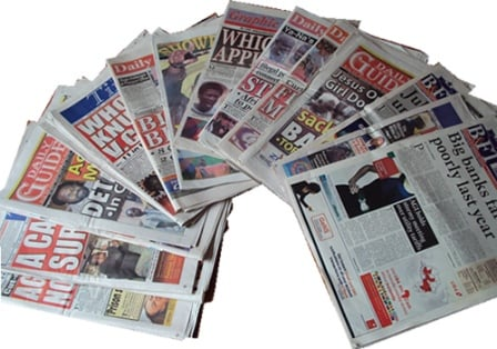 People still read newspapers