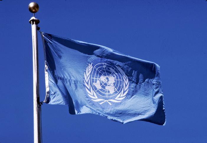 United Nations Logo Black and White