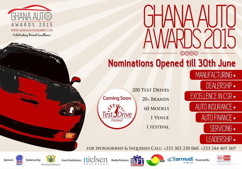 ghana auto awards announces nominations for 2015. Black Bedroom Furniture Sets. Home Design Ideas
