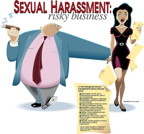 female journalists and sexual harassment essay This essay has been submitted by a law student this is not an example of the work written by our professional essay writers sexual harassment at work.