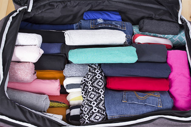 Space Saving Hacks For Packing Your Suitcase