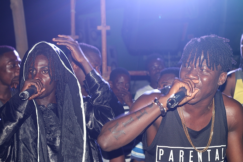 Masaany and Stonebwoy collide in the VR Pictures Of Adidome